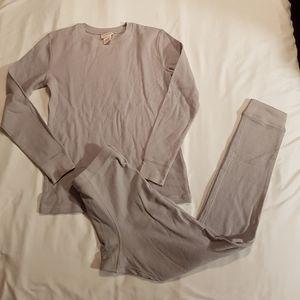 New grey boys thermal underwear 12/14